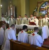 Msza Prymicyjna wkaplicy seminaryjnej