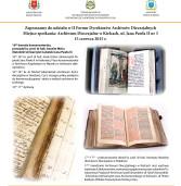 Forum Dyrektorów Archiwów Diecezjalnych