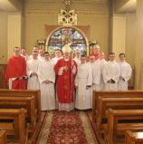 Bracia IV roku przyjęli posługę akolitatu
